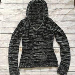 Tops - Black and gray hoodie